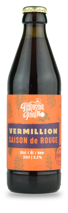 Vermillion - saison de rouge Farmhouse series - Fiskarsin Panimo