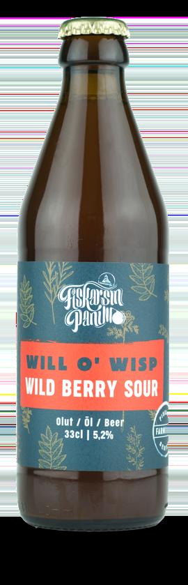 Will O' Wisp - Fiskarsin Panimo wild berry sour beer